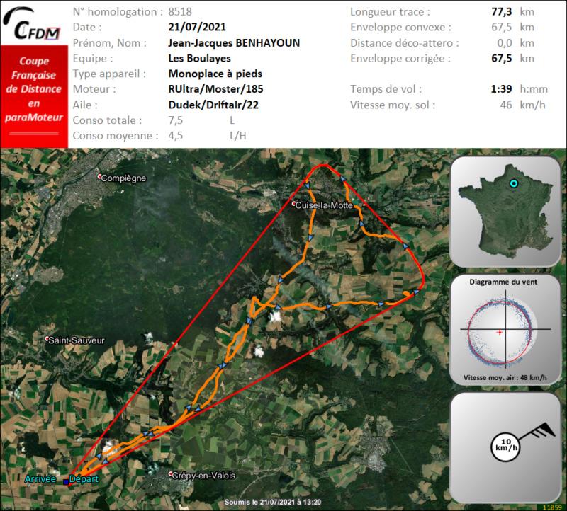 8518 - 21/07/21 - Jean-Jacques BENHAYOUN - 67 km - homologué Img1011