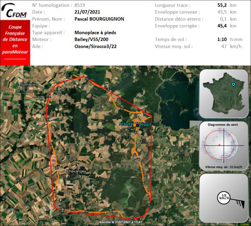 8519 - 21/07/21 - Pascal BOURGUIGNON - 45 km - homologué Img1012