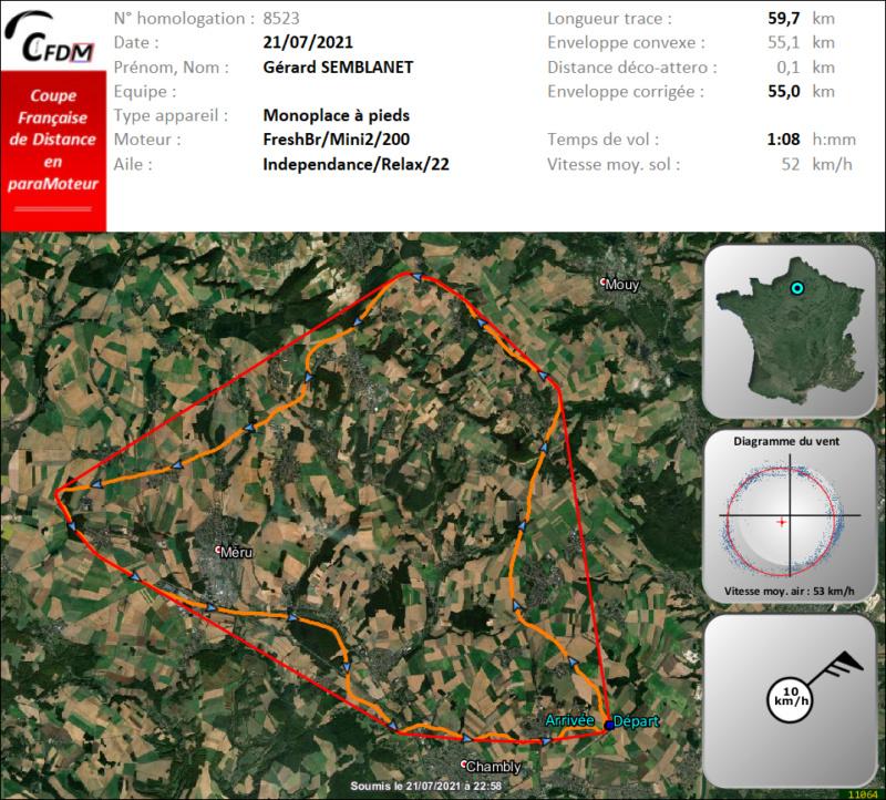 8523 - 21/07/21 - Gérard SEMBLANET - 54 km - homologué Img1016