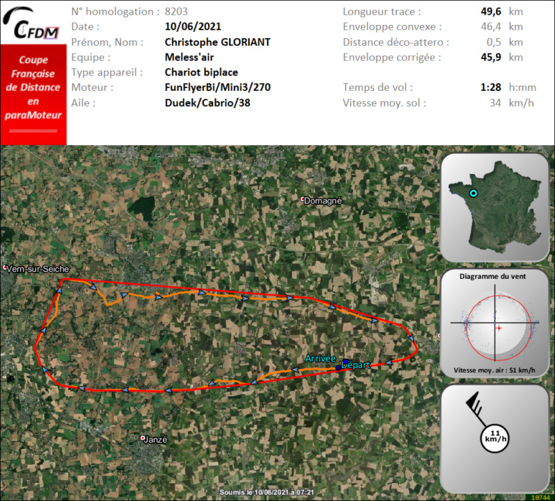 8203 - 10/06/21 - Christophe GLORIANT - 45 km - homologué Img688