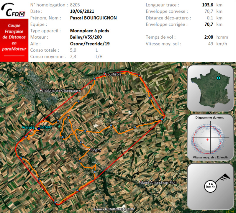 8205 - 10/06/21 - Pascal BOURGUIGNON - 70 km - homologué Img690