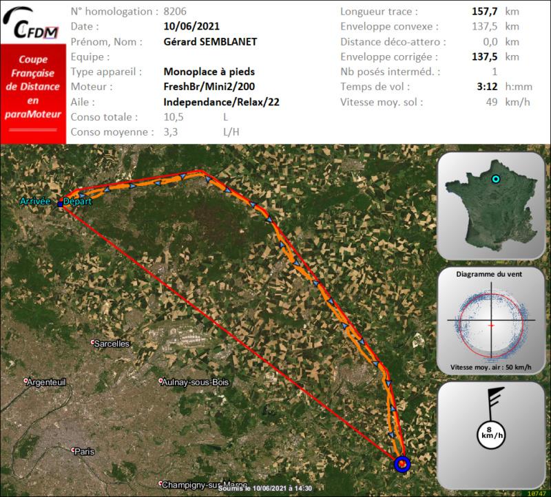 8206 - 10/06/21 - Gérard SEMBLANET - 137 km - homologué Img691