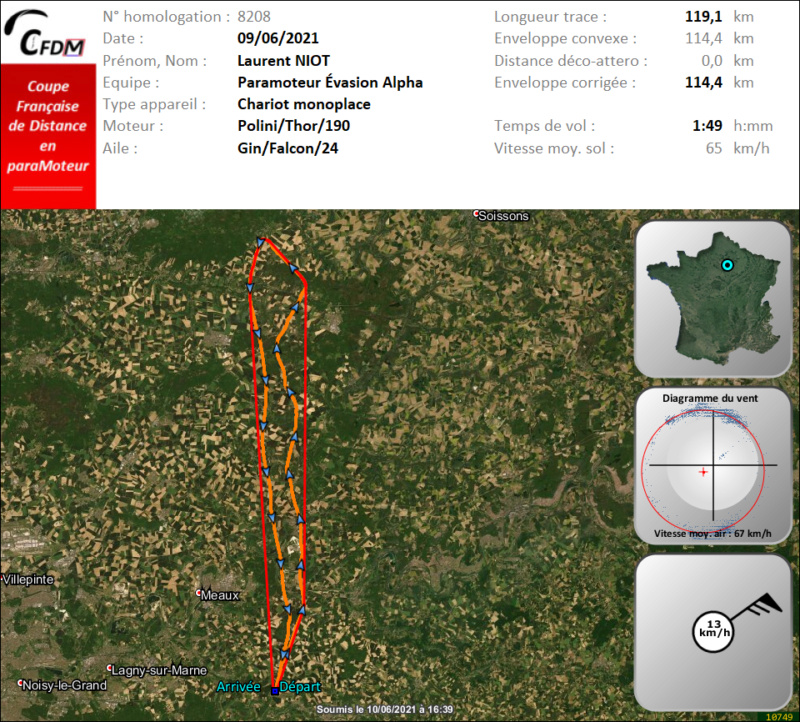 8208 - 09/06/21 - Laurent NIOT - 114 km - homologué Img693