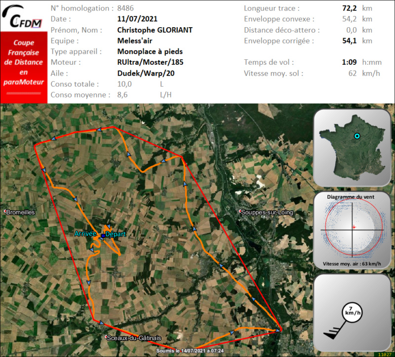8486 - 11/07/21 - Christophe GLORIANT - 54 km - homologué Img978