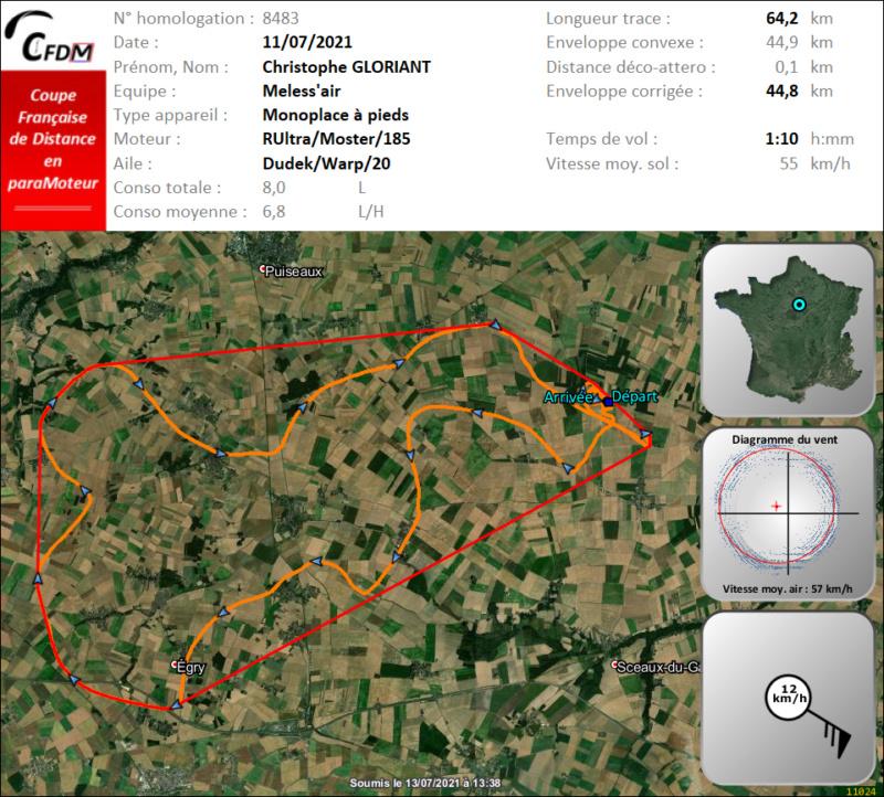 8483 - 11/07/21 - Christophe GLORIANT - 44 km - homologué Img979