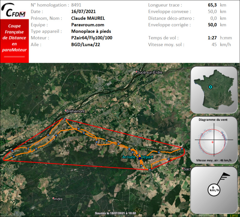 8491 - 16/07/21 - Claude MAUREL - 49 km - homologué Img984