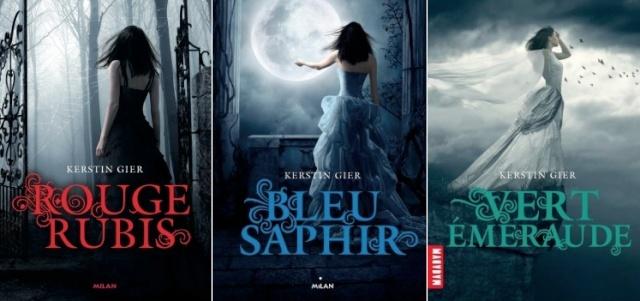 La trilogie des gemmes de Kerstin Gier (Rouge rubis, Bleu saphir et Vert émeraude) Captur12