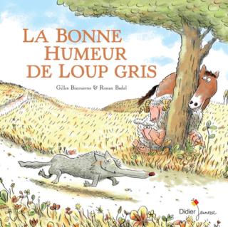 [Bizouerne, Gilles & Badel, Ronan] La bonne humeur de loup gris La_bon10