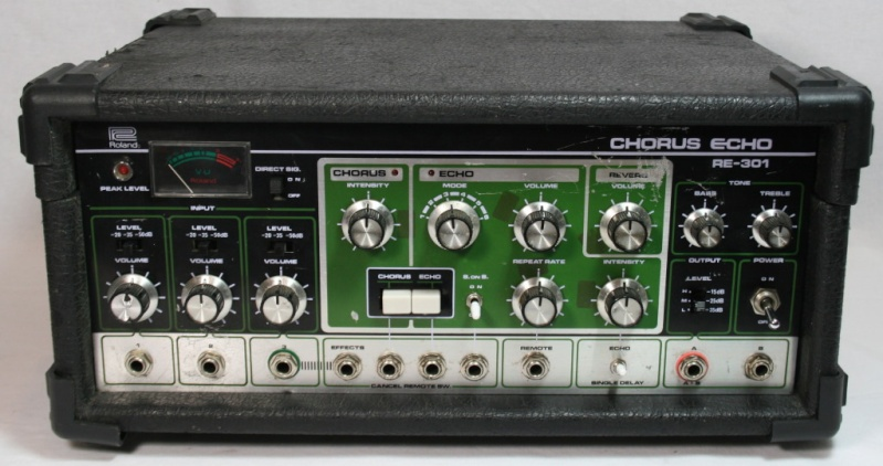 Space Echo Roland RE serie ........ 111