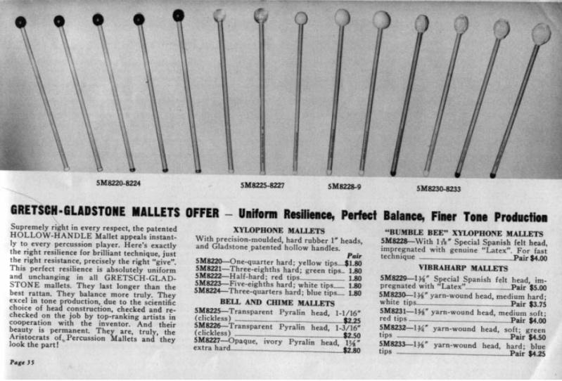 1930's   Gretsch American Xylophone ~ Marimba  11111