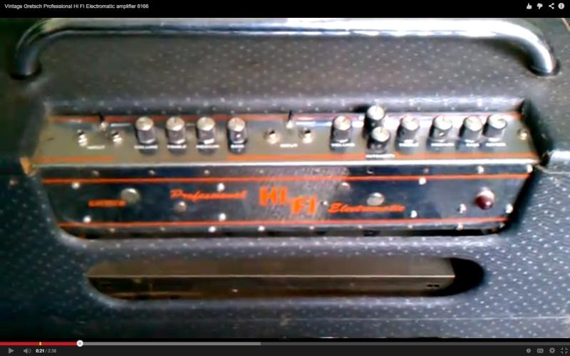 Gretsch HIFI electromatic 6166 111111