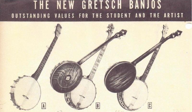 GRETSCH BANJO et UKULELE... 113