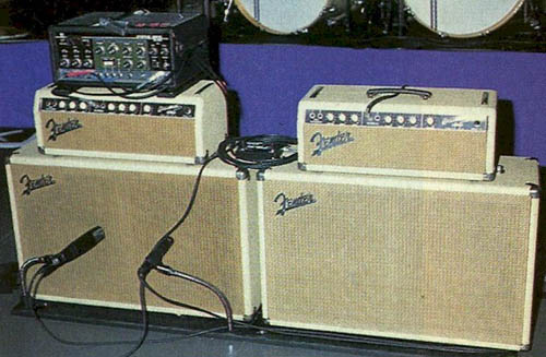 Construction de 3 Bassman Blonde 2(63' 6G6b)et 1(62' 6bj3). 1963-f10