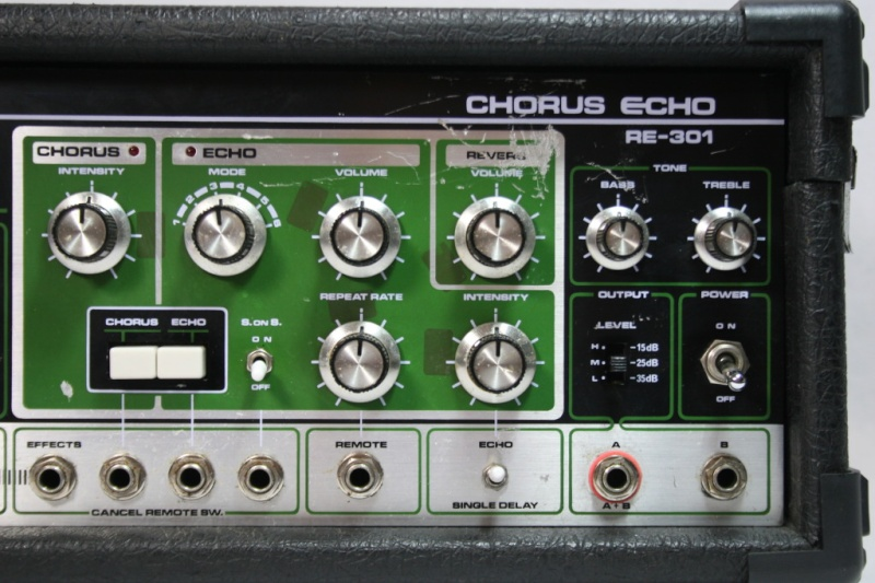 Space Echo Roland RE serie ........ 311
