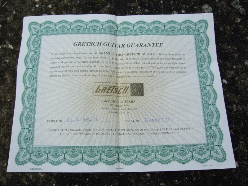 Gretsch G6120DC  Limited Edition Guitar. - Page 2 46257210
