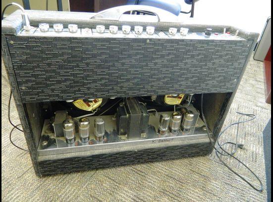1963 Gretsch 6166 Fury Amplifier 46483-11