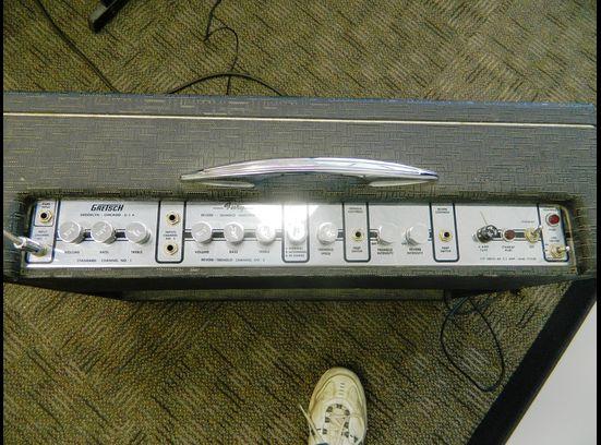 1963 Gretsch 6166 Fury Amplifier 46483-12