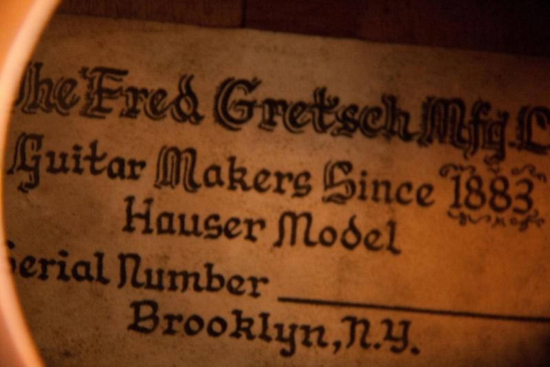Gretsch Classic Guitar: Hauser Model 56817410