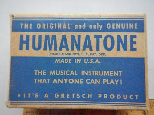 "Gretsch Nose Flute ""humanatone"" _12_411"