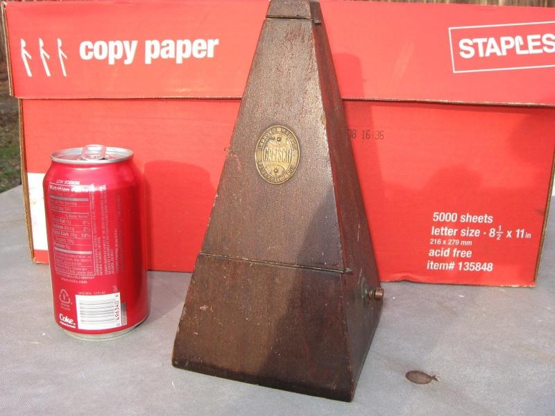 Gretsch metronome. _5718