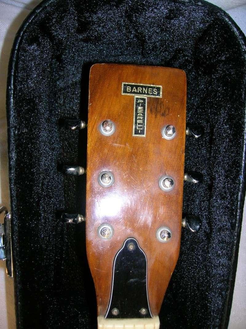 Barnes-Pizzarelli Acoustic (5964 BP) distrib by fred Gretsch _57_1810