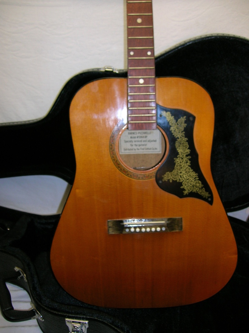 Barnes-Pizzarelli Acoustic (5964 BP) distrib by fred Gretsch _57_2010