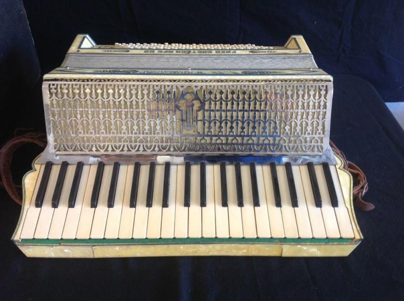 """Vintage Gretsch accordéon """"la tosca"""" _57_321"""