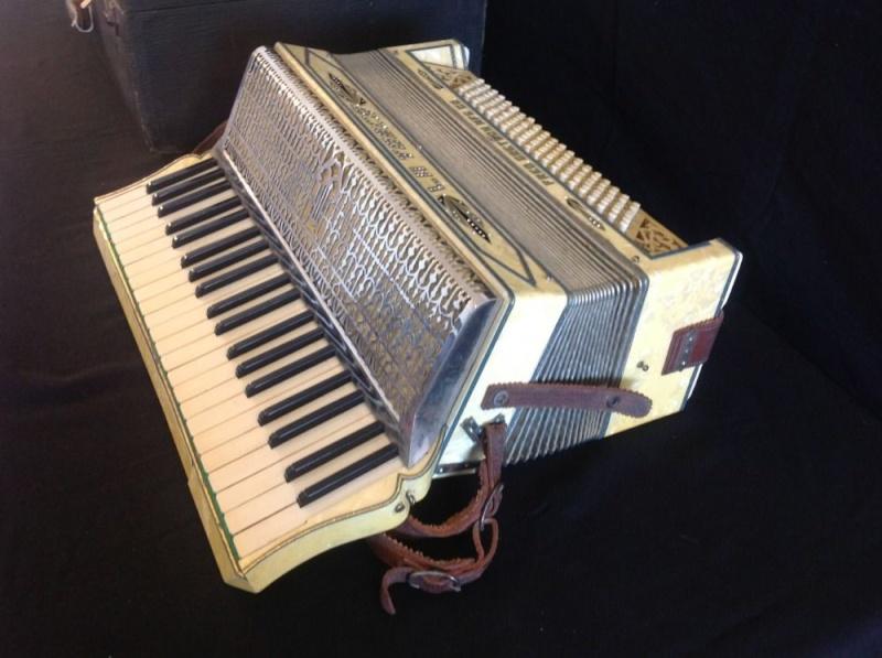 """Vintage Gretsch accordéon """"la tosca"""" _57_419"""