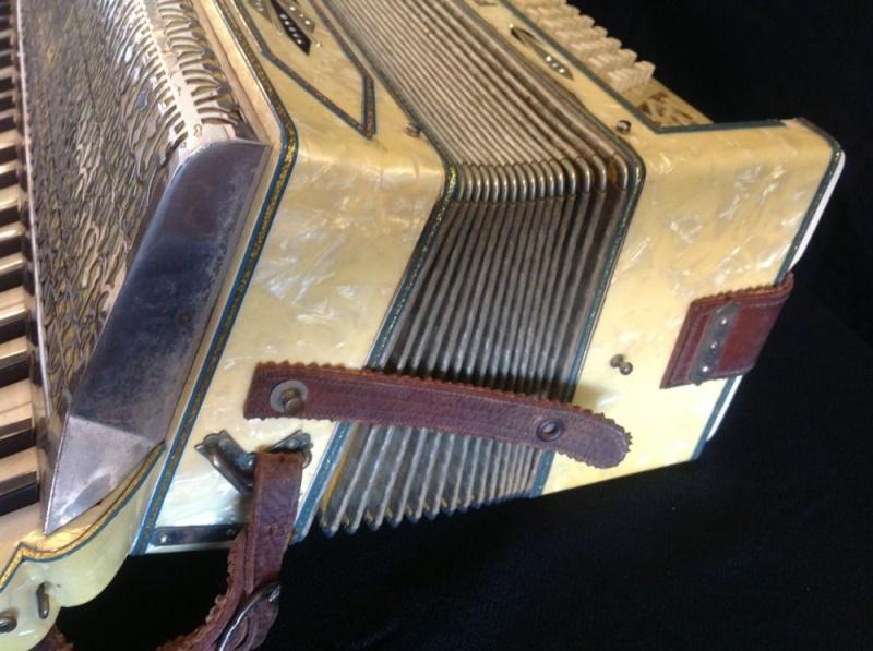 """Vintage Gretsch accordéon """"la tosca"""" _57_519"""