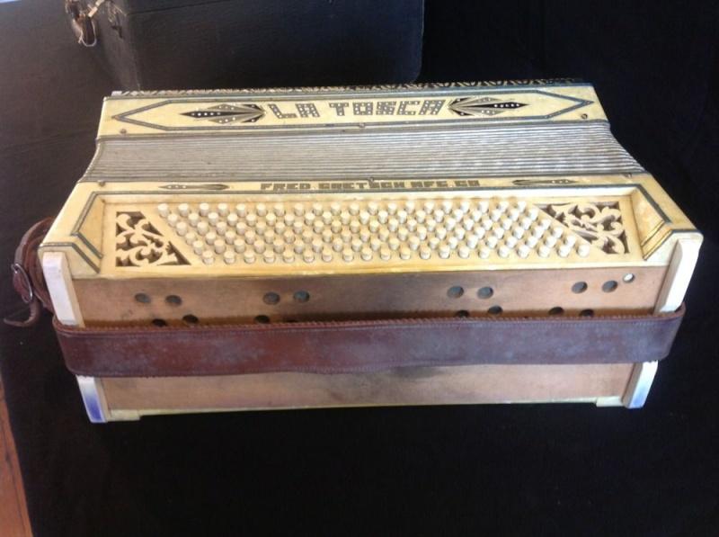"""Vintage Gretsch accordéon """"la tosca"""" _57_615"""