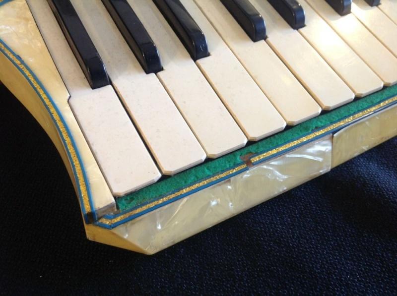"""Vintage Gretsch accordéon """"la tosca"""" _57_713"""