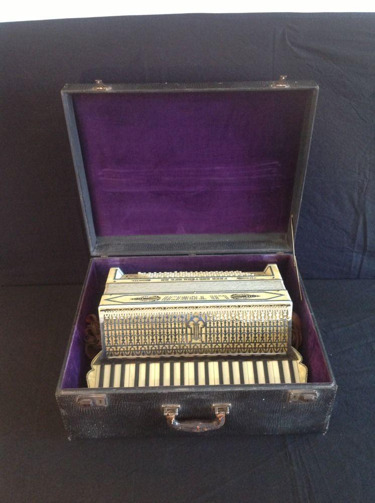 """Vintage Gretsch accordéon """"la tosca"""" _57_812"""