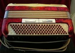 """Vintage Gretsch accordéon """"la tosca"""" Ac5_0110"""