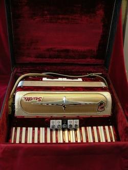 """Vintage Gretsch accordéon """"la tosca"""" Ac_02010"""