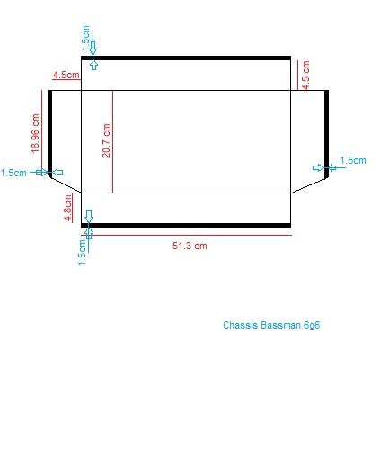 Construction de 3 Bassman Blonde 2(63' 6G6b)et 1(62' 6bj3). - Page 5 Chassi10