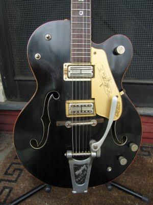 1958 Gretsch 6120 Chet Atkins Guitar (modifié) Chet710
