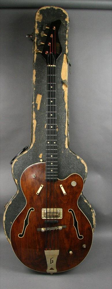 """1960′s  Gretsch """"MONKEES"""" bass Guitar   6070 Eoi1go10"""