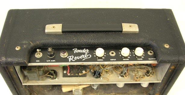 Fender Reverb Unit 6G15 Fender25
