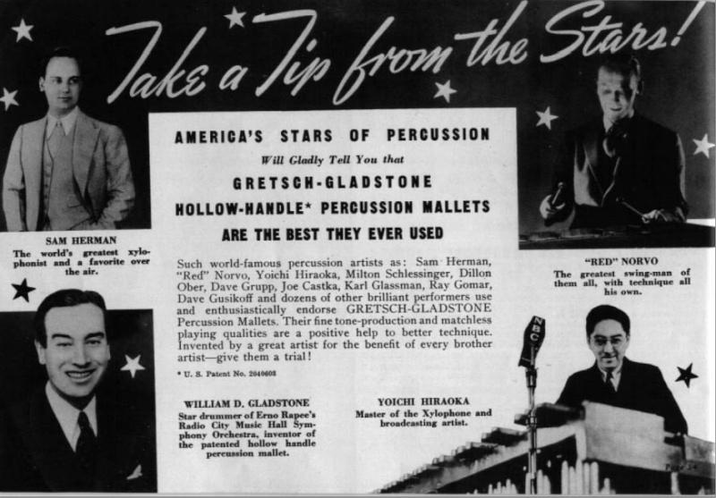1930's   Gretsch American Xylophone ~ Marimba  Gladst10