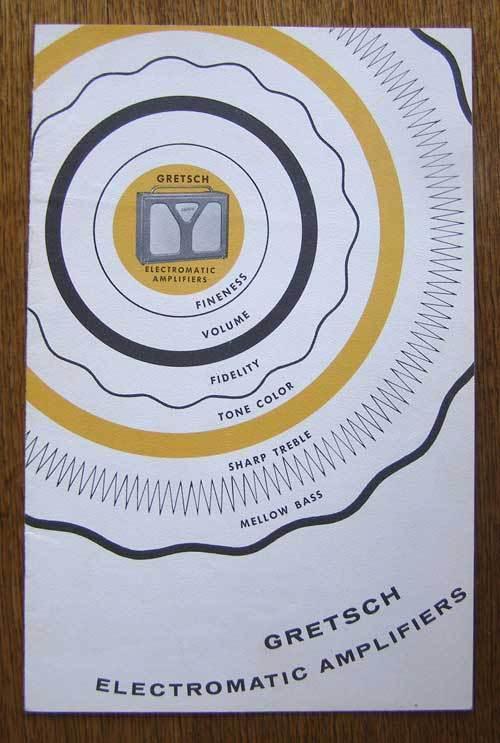 Gretsch HIFI electromatic 6166 Gretsc33
