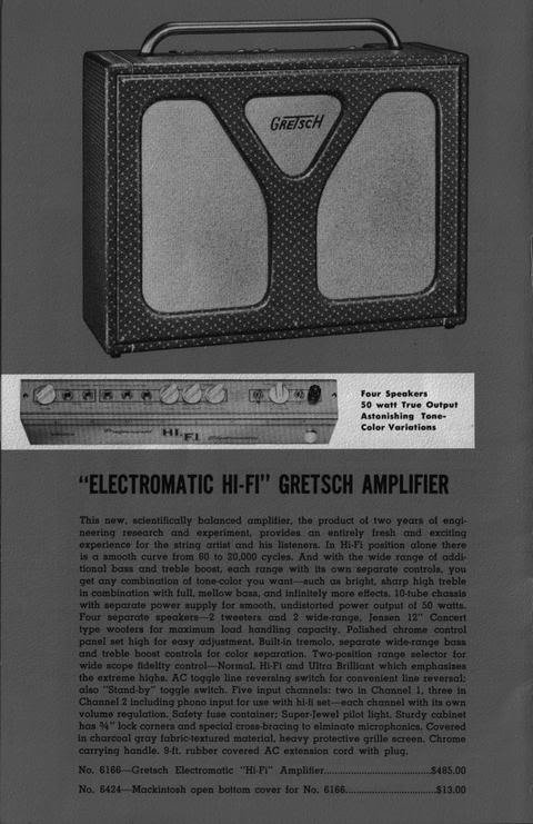 Gretsch HIFI electromatic 6166 Hi-fi10