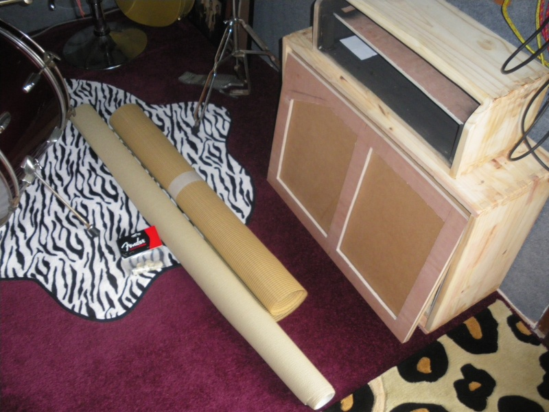 Construction de 3 Bassman Blonde 2(63' 6G6b)et 1(62' 6bj3). Imgp0353