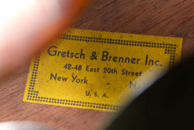 Archtop Cromwell 1935 ( Gretsch and Brenner inc). Kg21-111