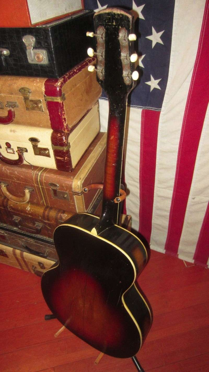 1940's Gretsch Archtop War time .By Harmony Kgrhqm11