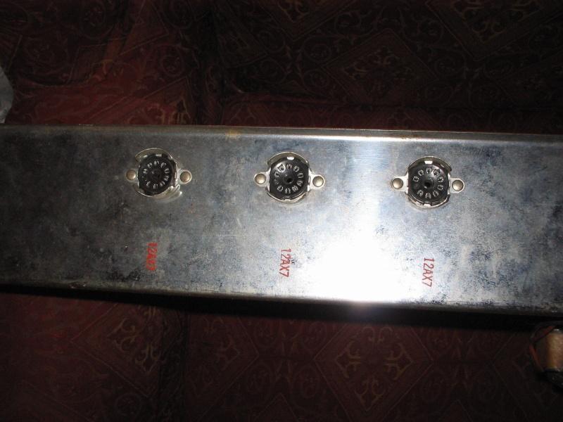 1963 Gretsch 6166 Fury Amplifier Kgrhqz11
