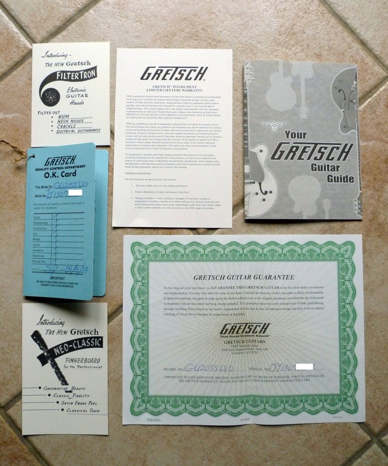 Gretsch G6120DC  Limited Edition Guitar. - Page 2 Papers10