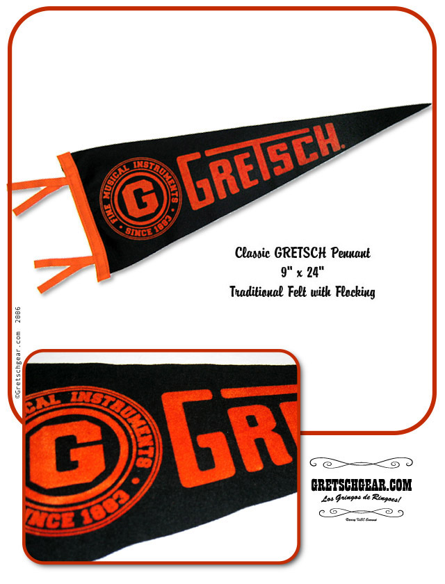 Gretsch Collectible Pennan10