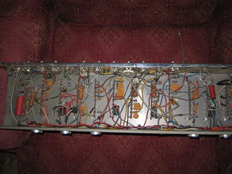 1963 Gretsch 6166 Fury Amplifier T2ec1611
