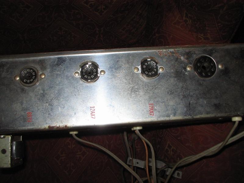 1963 Gretsch 6166 Fury Amplifier T2ec1612
