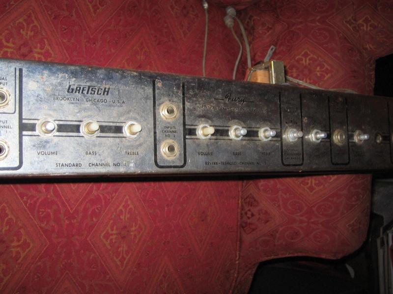 1963 Gretsch 6166 Fury Amplifier T2ec1613